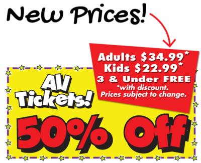 Dinner Show Tickets to increase in price
