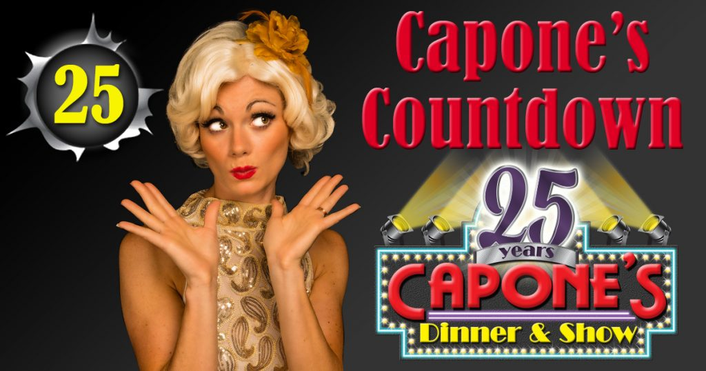 25 Reasons Guests Love Capones Dinner Show