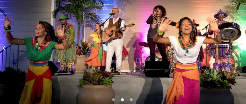 Caribbean Carnaval Dinner Show - Loews Sapphire Falls Resort