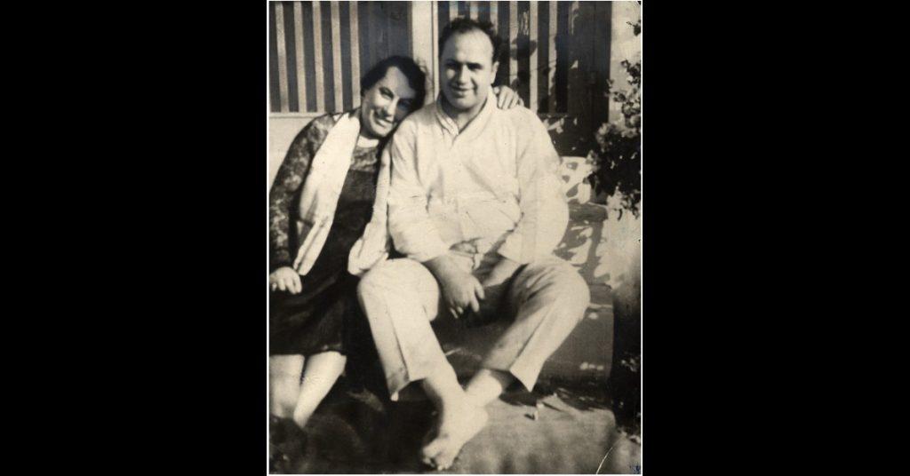 Al Capone with mama Teresa.