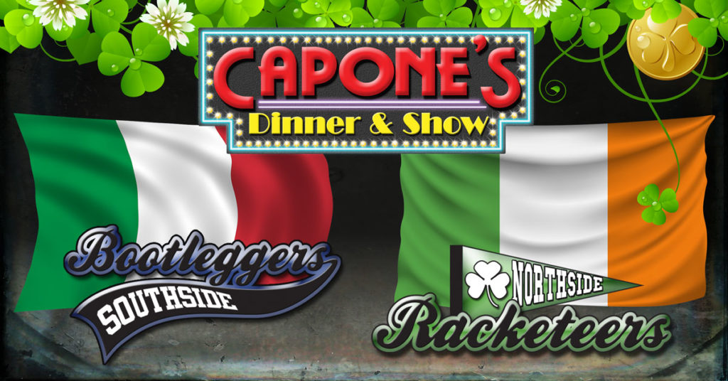 St. Patrick's Day dinner at Capone's