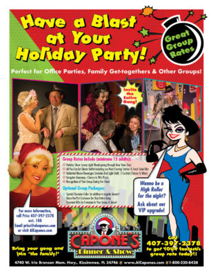 Holiday Party Flier