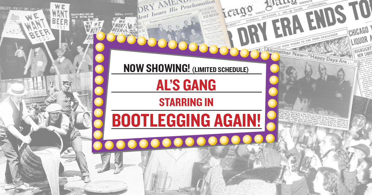 Happy Days! Al's gang is Bootlegging Again