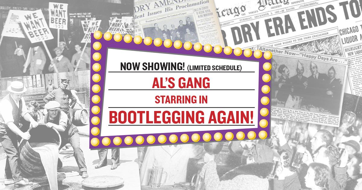 Happy Days! Al's gang is Bootlegging Again