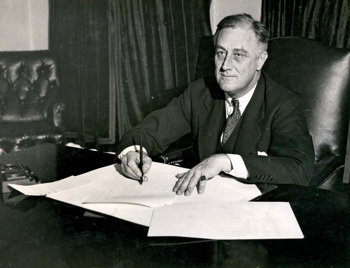 March Madness ends with Roosevelt signing act
