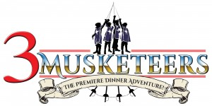 3 Musketeers dinner show logo