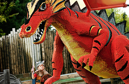 Legoland Dragon at Knights Kingdom