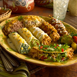 Mexican food dish from Abuelos Kissimmee restaurant