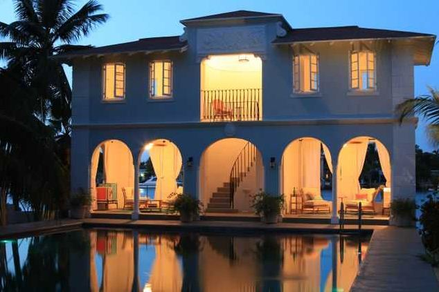 Photo of Al Capone's home
