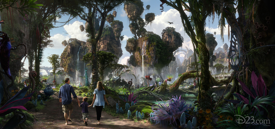 Avatar land at Animal Kingdom