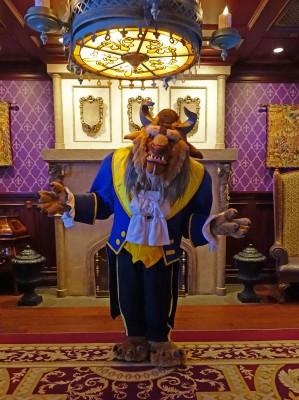 Beast at Disney