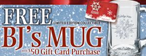 Free BJ's Mug
