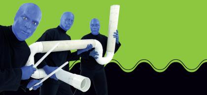 Blue Man Group Making Waves Exhibit