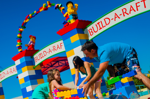 Build a Raft at Legoland