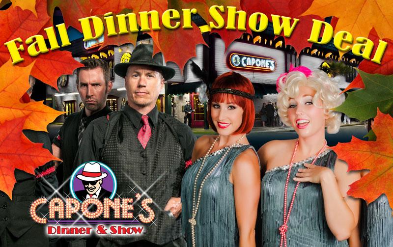 Fall dinner show deals