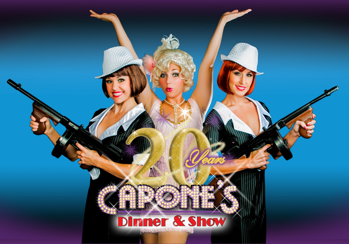 Capone's Dinner & Show is celebrating 20 years!