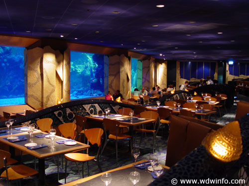 C Reef Restaurant At Epcot