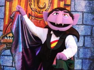 Count's Halloween breakfast at SeaWorld