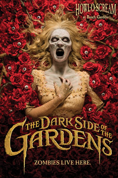 The Dark Side of the Gardens - Busch Gardens Hall-O-Scream