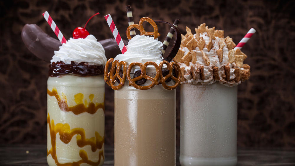 Chocolate Factory Milkshakes