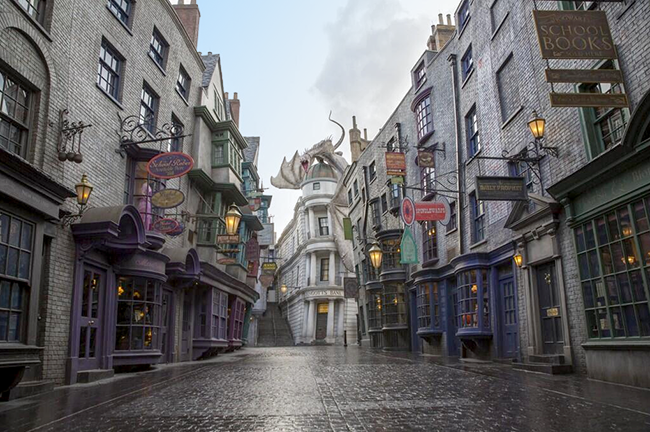 Shops at Diagon Alley at Universal Studios