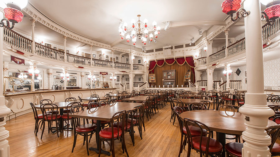 The Diamond Horseshoe Table-Service Dining