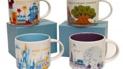 Disney Starbucks Mugs