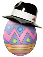 Easter Special: Free gangster hats on Easter at Capone's Dinner & Show
