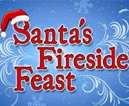 Santa's Fireside Feast logo at SeaWorld Orlando
