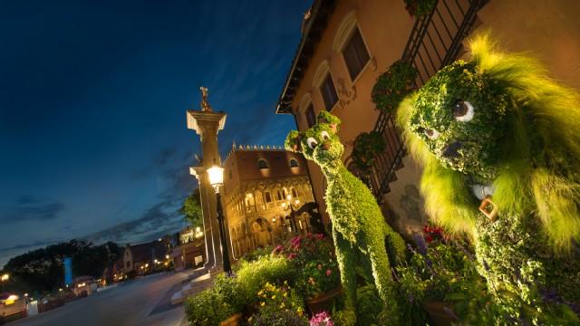 Epcot Flower & Garden Topiary