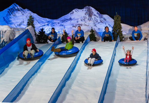 Snow Tubing in Orlando
