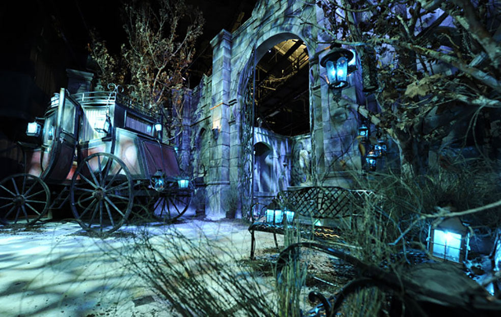 unversal studios haunted house halloween