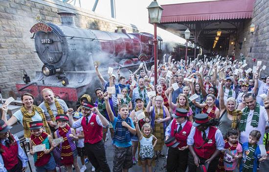 Hogwarts Express Milestone