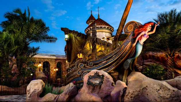 Little Mermaid Orlando attraction