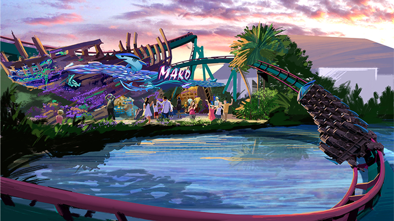 Mako roller coaster - theme parks will add new roller coasters