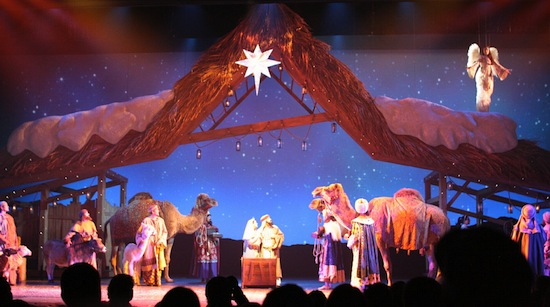 SeaWorld nativity show