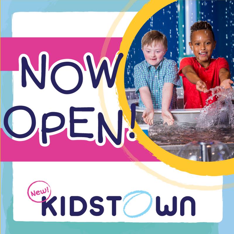 Now Open! KidsTown at OSC