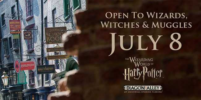 Grand Opening of Diagon Alley