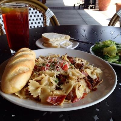 La Madeleine Country French Café pasta dish