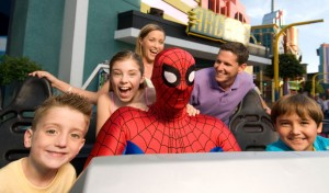 Universal Studios Orlando Spiderman Ride Photo