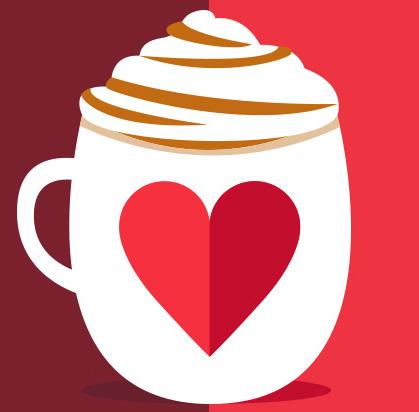 Starbucks Coffee Valentine's promotion