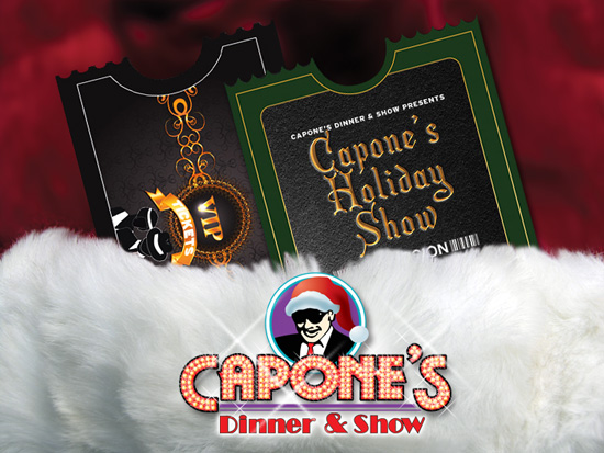 Gift Cards from Capone's Dinner & Show