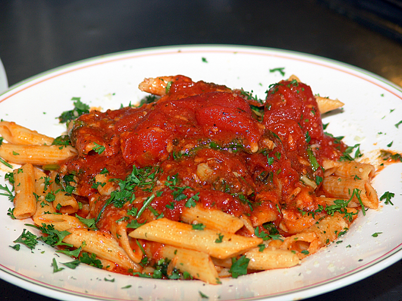 Italian restaurant in Kissimmee photo of ziti in sauce