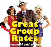 Group Rates at fantastic prices!