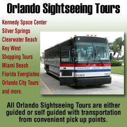 Orlando Sightseeing Tours Advertisement