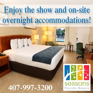 Seasons Florida Resort onsite accommodations