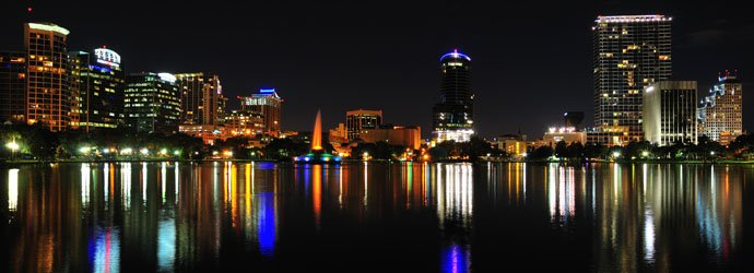 Downtown Orlando is near all of Central Florida's attractions.